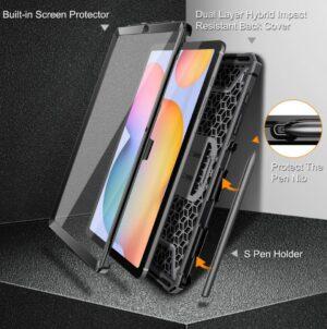 2021 03 15 17 44 05 for Samsung Galaxy Tab S6 Lite 10.4 2020 SM P610 P615 Hybrid Kickstand Cover