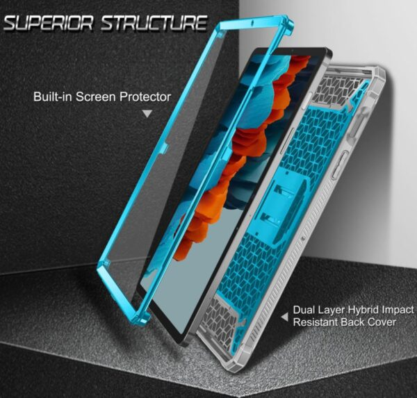 2021 03 15 17 50 48 Shockproof Case for Samsung Galaxy Tab S7 11 2020 Satnd Cover Screen Protector